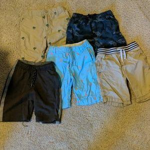 Lot of 5 boys shorts